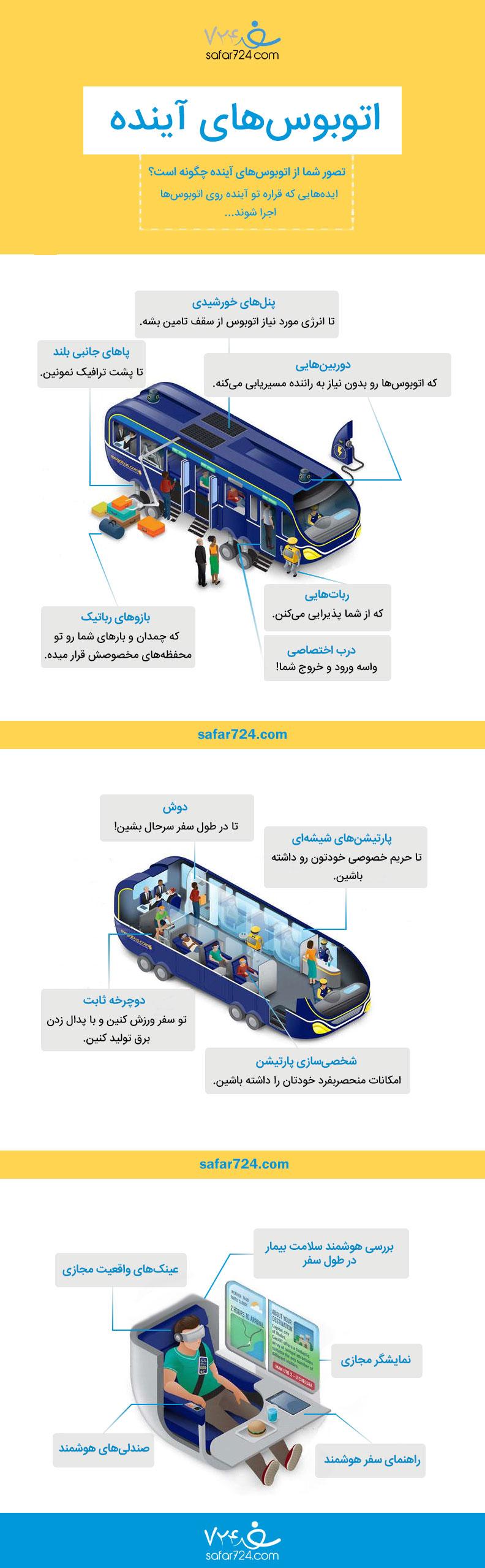 اتوبوسهای پیشرفته