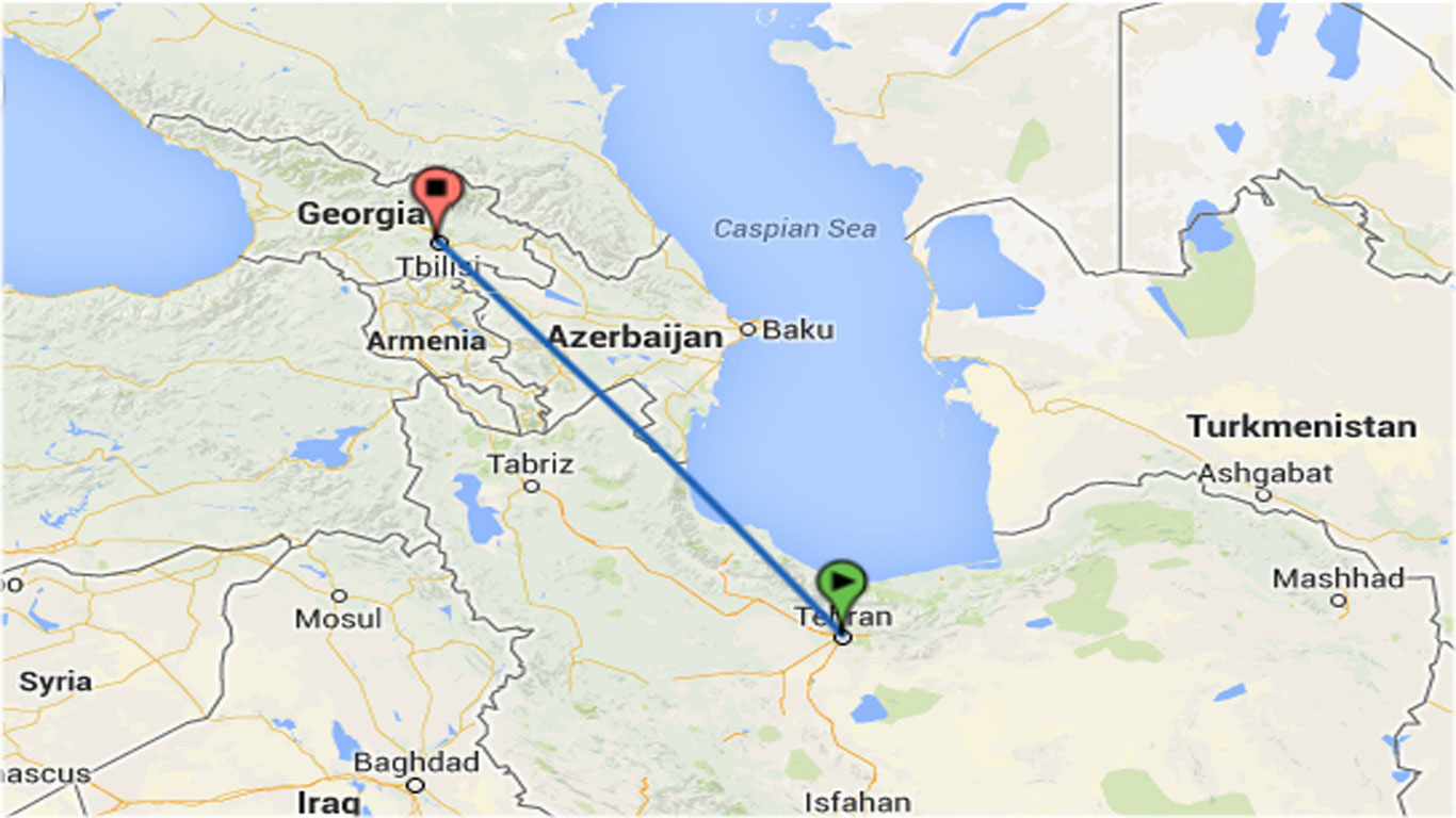 قیمت بلیط قطار به گرجستان